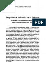 Degradacion Del Suelo Ecuador