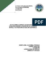 Pacto Sobre Acuerdos Socioeconomico y Situacion Agraria