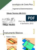 1-Líneas, Formatos, Instrumentos