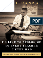 I'd Like to Apologize to Every Teacher I Ever Had by Tony Danza - Excerpt