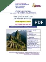 MYSTICAL PERU, RETREAT & JOURNEY 2012
