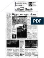 Miami Herald Front Page Aug. 23, 1992