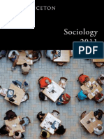 Princeton University Press — Sociology 2011