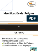 Identificacion de Peligros