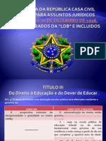 LDB Presidência da República Casa Civil
