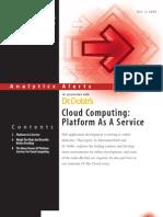 CloudComputing Platform as Service
