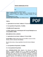 SESION ORDINARIA N 07-06