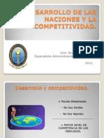 Diapostivas Desarrollo de Las Naciones y La Competitividad