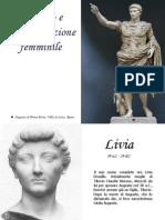 le donne nell'età augustea Padula