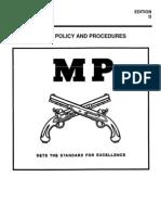 Usamps Epw Ci Policy