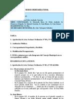 SESION ORDINARIA N 10-06