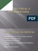GESTÃO FISCAL E ORÇAMENTÁRIA