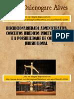 Discricionariedade administrativa, conceitos jurídicos indeterminados e a possibilidade de controle jurisdicional