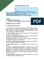 SESION ORDINARIA N 18-06