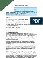 SESION ORDINARIA N 19-06