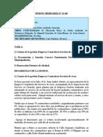 SESION ORDINARIA N 21-06