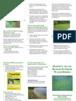Algae Fresh Water Brochure