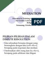 Training on Mediation