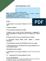 SESION ORDINARIA N 22-06