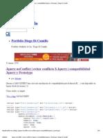 Jquery NoConflict _ Evitar Conflicto $ Jquery _ Compatibilidad Jquery y Prototype _ Diego Di Camillo