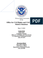 Privacy Pia Dhs Crclmatters DHS Privacy Documents for Department-wide Programs 08-2012