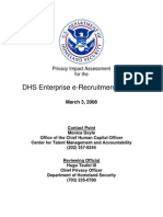 Privacy Pia Dhs Erecruitment DHS Privacy Documents for Department-wide Programs 08-2012