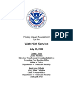 Privacy Pia Dhs Wls DHS Privacy Documents for Department-wide Programs 08-2012