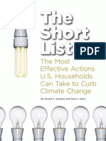 Behavioral Changes for Energy Saving