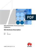 RTN 910 IDU Hardware Description-(V100R003C03_01)
