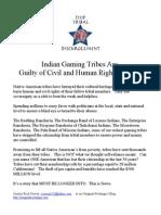 Tribal Disenrollment Media Press Kit