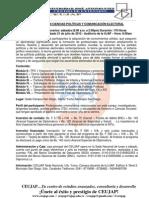 DIPLOMADO EN CIENCIAS POLÍTICAS Y COMUNICACIÓN ELECTORAL