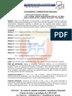 Resumen Ejecutivo XXV CA VLN Julio 2012