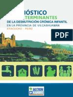 DIAGNÓSTICO DE LOS DETERMINANTES DE LA DESNUTRICIÓN CRÓNICA INFANTIL EN LA PROVINCIA DE VILCASHUAMÁN AYACUCHO - PERÚ