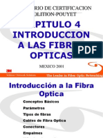 Capitulo 4 Introduccion a Fibras Opticas