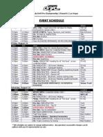 FD Vegas Schedule 2012
