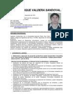 Juan enrique  Valdera Sandoval