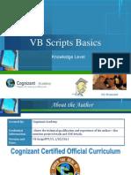 VB Scripts Basics