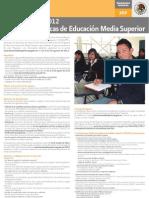 Convocatoria de Programa de Becas de Educación Media Superior