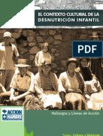 EL CONTEXTO CULTURAL DE LA DESNUTRICIÓN INFANTIL
