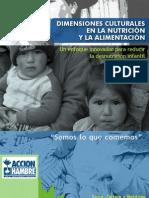 Dimensiones Culturales en la Nutrición y La Alimentación
