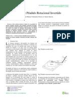 Diseño de pendulo rotacional invertido.