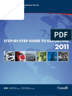 Step by Step Guide to Exporting 2011