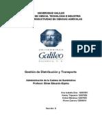 Gestion de Distribucion y Transporte