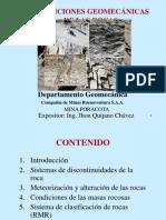 Condiciones Geomecanicas de Las Rocas