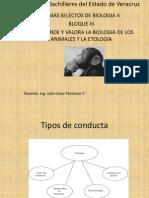 BLOQUE III Etologia Temas Selectos de Biologia II