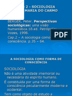 Slides - BERGER, Peter. Perspectivas Sociológicas