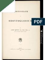 A Monograph of Odontoglossum - James Bateman