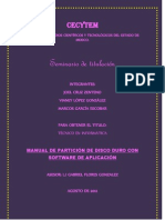 Manual de partición Software