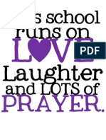 This School PRAYERpurpleblack