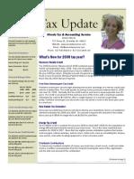 Tax Update 2009